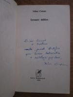 Mihai Coman - Izvoare mitice (cu autograful autorului)
