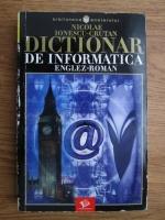 Nicolae Ionescu Crutan - Dictionar de informatica englez-roman