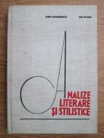 Sorin Alexandrescu, Ion Rotaru - Analize literare si stilistice