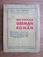 Anticariat: Virgil Tempeanu - Dictionar german-roman (1943)