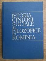 Constantin Ionescu Gulian - Istoria gandirii sociale si filozofice in Romania