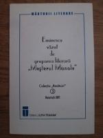 Anticariat: Eminescu vazut de gruparea literara Mesterul Manole