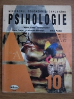 Mielu Zlate - Psihologie. Manual pentru clasa a X-a