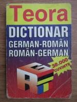 Mihai Isbasescu, Alexandru Roman - Dictionar german-roman, roman-german