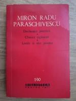Miron Radu Paraschivescu - Declaratie patetica, Cantece tiganesti, Laude si alte poeme