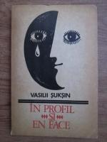 Vasilii Suksin - In profil si en face