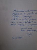 Virgil Mihai - Sighisoara, Suedia si alte stari de spirit (cu autograful autorului)