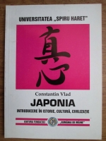 Anticariat: Constantin Vlad - Japonia. Introducere in istorie, cultura si civilizatie