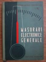 Anticariat: Edmond Nicolau, Mariana Belis - Masurari electronice generale