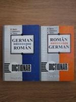 Emilia Savin, Ioan Lazarescu, K. Tantu - Dictionar roman-german (2 volume)