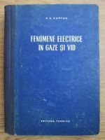N. A. Kaptov - Fenomene electrice in gaze si vid