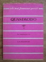 Anticariat: Salvatore Quasimodo - Versuri (Colectia Cele mai frumoase poezii)
