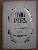Venera Stefanescu, Viorica Dobrovici - Limba engleza. Texte de specialitate. Medicina. Farmacie