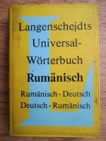 E. E. Lange Kowal - Langenscheidts universal-worterbuch rumanisch, rumanisch-deutsch, deutsch-rumanisch