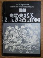 Florian Georgescu, Constanta Stirbu - Cercetari numismatice (1978)