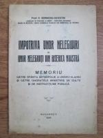 Georgescu Silvestru - Impotriva unor nelegiuiri si unor nelegiuiti din biserica noastra