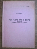 Ion Banu - Istoria filosofiei antice si medievale. Culegerea filosofica a lui Platon