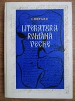 Ion Rotaru - Literatura romana veche