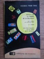 L. D. Landau - Qu est-ce que la theorie de la relativite