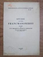 Nicolae al Ardealului - Studiul asupra francmasoneriei (1937)