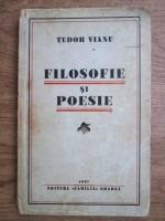 Anticariat: Tudor Vianu - Filosofie si poezie