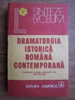 Anticariat: Dramaturgia istorica romana contemporana
