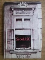 Revista Secolul 20. Nr. 328-329-330, 1988