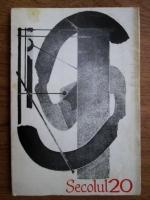 Anticariat: Revista Secolul 20. Nr. 8, 1974