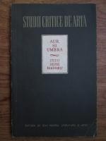 Anticariat: Theun de Vries, H. L. C. Jaffe, Jaromir Sip - Aur si umbra, studii despre Rembrandt