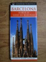 Anticariat: Barcelona, harta si ghid de buzunar