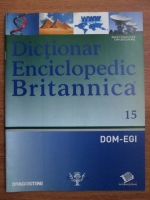 Anticariat: Dictionar Enciclopedic Britannica, DOM-EGI, nr. 15