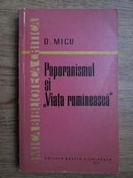 Anticariat: Dumitru Micu - Poporanismul si Viata Romaneasca