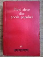 Anticariat: Flori alese din poezia populara