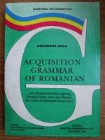 Anticariat: Gheorghe Doca - Acquisition grammar of romanian