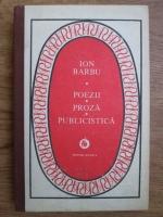 Ion Barbu - Poezii, proza, publicistica