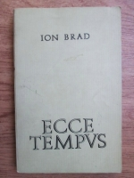 Anticariat: Ion Brad - Ecce tempvs