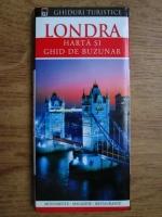Anticariat: Londra, harta si ghid de buzunar