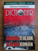 Anticariat: Mariana Sandulescu - Dictionar roman-italian, italian-roman