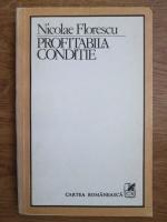 Anticariat: Nicolae Florescu - Profitabila conditie