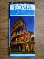 Anticariat: Roma, harta si ghid de buzunar