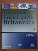 Anticariat: Dictionar Enciclopedic Britannica, ASI-BAL, nr. 4