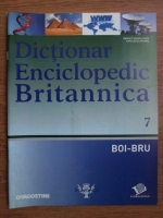 Anticariat: Dictionar Enciclopedic Britannica, BOI-BRU, nr. 7