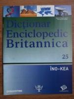 Anticariat: Dictionar Enciclopedic Britannica, INO-KEA, nr. 25