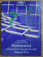 Marius Perianu, Ioan Balica, Liviu Stroie - Matematica, caiet pentru vacanta de vara clasa a VII-a