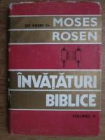 Moses Rosen - Invataturi biblice (volumul 3)