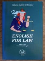 Anticariat: Coziana Marina Beizdadea - English for law