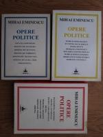 Anticariat: Mihai Eminescu - Opere politice (3 volume)