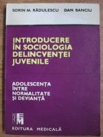 Sorin M. Radulescu - Introducere  in sociologia delincventei juvenile