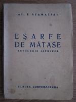 Al. T. Stamatiad - Esarfe de matase. Antologie japoneza