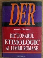 Alexandru Cioranescu - Dictionarul etimologic al limbii romane
